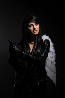 Free Not An Angel Stock Photo - 8569920