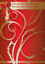 Free Red Bow On Decorative Background Stock Photography - 8573472