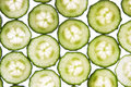 Free Cucumber Slices Royalty Free Stock Images - 8575969