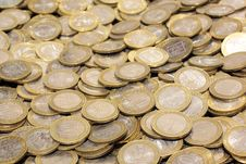Free Coins Royalty Free Stock Images - 8570299