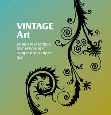 Free Vintage Template Frame Royalty Free Stock Photography - 8570557