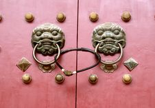 Free Chinese Door Royalty Free Stock Images - 8570819