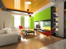 Free Modern Interior Royalty Free Stock Image - 8571256