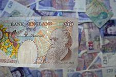 Ten Pound Note Royalty Free Stock Photos