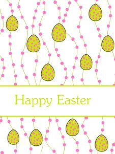 Free Easter Card Stock Image - 8572051