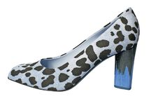 Free Leopard Shoe Stock Photography - 8572272