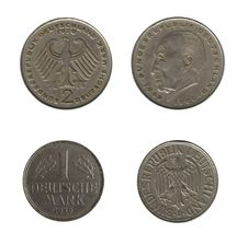 Free Old Deutsche Marks Stock Image - 8573171