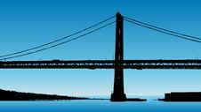 Bridge Illustration Stock Photography