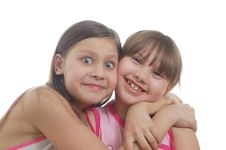 Free Two Girls Royalty Free Stock Images - 8573809
