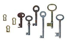Free Retro Keys Stock Photos - 8574143