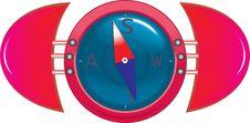 Free Kompas Stock Image - 8574411