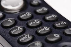 Telephone Receiver. Royalty Free Stock Images