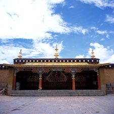 Free Ganden Sumtseling Monastery Stock Images - 8575564