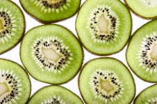 Free Kiwi Slices Royalty Free Stock Photography - 8575817