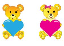 Free Teddy Bears Royalty Free Stock Photography - 8576217