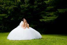 Free White Bride Stock Photo - 8576770