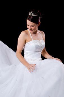 Free White Bride Stock Image - 8576861