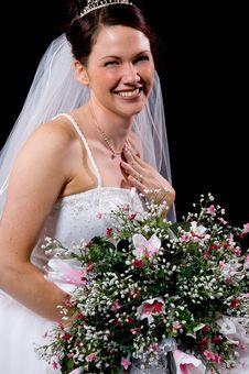 Free White Bride Stock Photo - 8576900