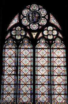 Free Window Pattern Of  The Church Stock Photography - 8577472
