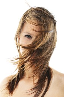 Free Portrait Of Beautiful Girl Stock Image - 8577501