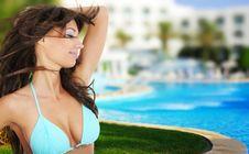 Free Summer Girl Stock Image - 8577651