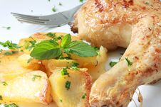 Free Chicken Royalty Free Stock Photography - 8577907