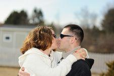 Free Kissing Couple Stock Photos - 8578023