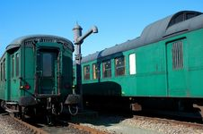 Free Old Green Travelcargos Stock Photo - 8578360