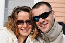 Free Happy Couple Stock Image - 8578421
