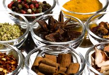 Free Spices Royalty Free Stock Image - 8579096