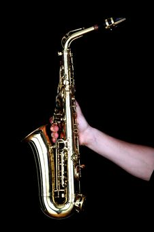 Free Sax Royalty Free Stock Photo - 8579315