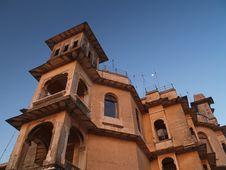 Free Udaipur Monsoon Palace Stock Image - 8579641