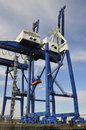 Free Container Terminal 50 Ton Container Cranes Stock Photography - 8580432