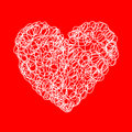 Free Vector Heart Royalty Free Stock Photography - 8580847