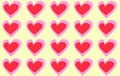 Free Hearts Pattern Stock Photography - 8589562