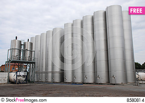 Free Steel  Silo Stock Images - 8580814