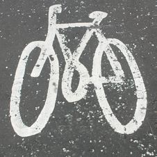 Free Bike Symbol Stock Photo - 8580060