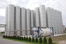 Free Steel Industrial Bunker Stock Image - 8580861