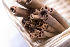 Free Cinnamon Sticks Stock Image - 8580891