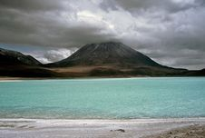 Free Green Lagoon In Bolivia,Bolivia Royalty Free Stock Image - 8581186
