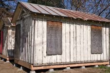 Free Wooden Cabins Stock Image - 8581771