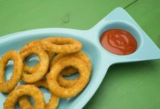 Free Onion Rings Royalty Free Stock Images - 8582609