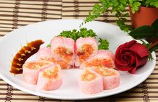 Free Spicy Girl Roll Royalty Free Stock Photo - 8584205