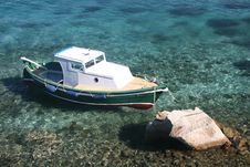 Free Boat And Sea Stock Photography - 8584232