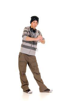 Free Handsome Hip Hop Youngster Stock Images - 8584574