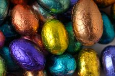 Free Wrapped Easter-eggs Royalty Free Stock Images - 8584759