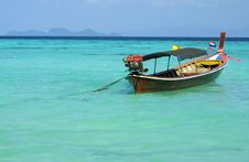 Free Boat In Andaman Sea Stock Image - 8585201