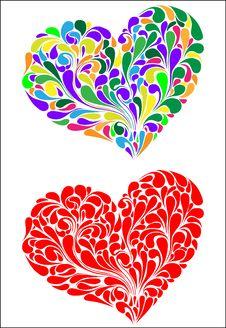 Free Heart Love Vector Royalty Free Stock Photo - 8585355