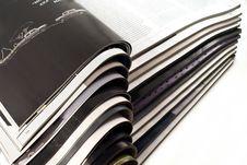 Free Open Magazines Stock Image - 8586121
