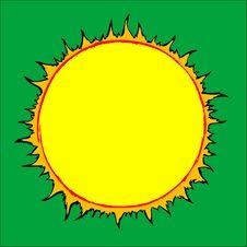 Free Drawn Sun Royalty Free Stock Photos - 8586438